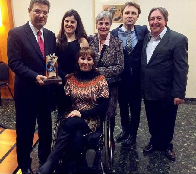 Ruth Aguilar premio asociacion rosvelt