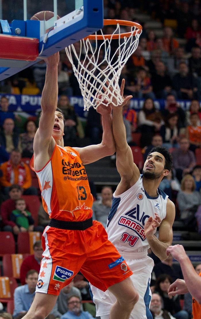 Valencia Basket ICL Manresa Lucic
