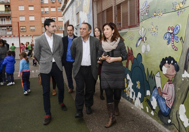 Visita Miguel Soler colegio Maestro Serrano-2