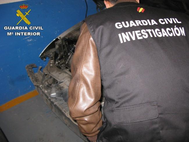 guardia civil vehículos compraventa