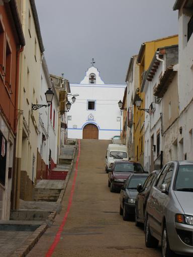 Foto: Tramo de la Ruta del Hilo Rojo de Ayora