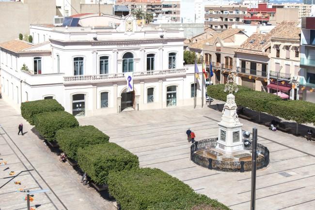 Plaza del Ayuntamiento de Alfafar