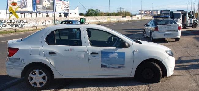 Guardia Civil. vehiculo sustraido.