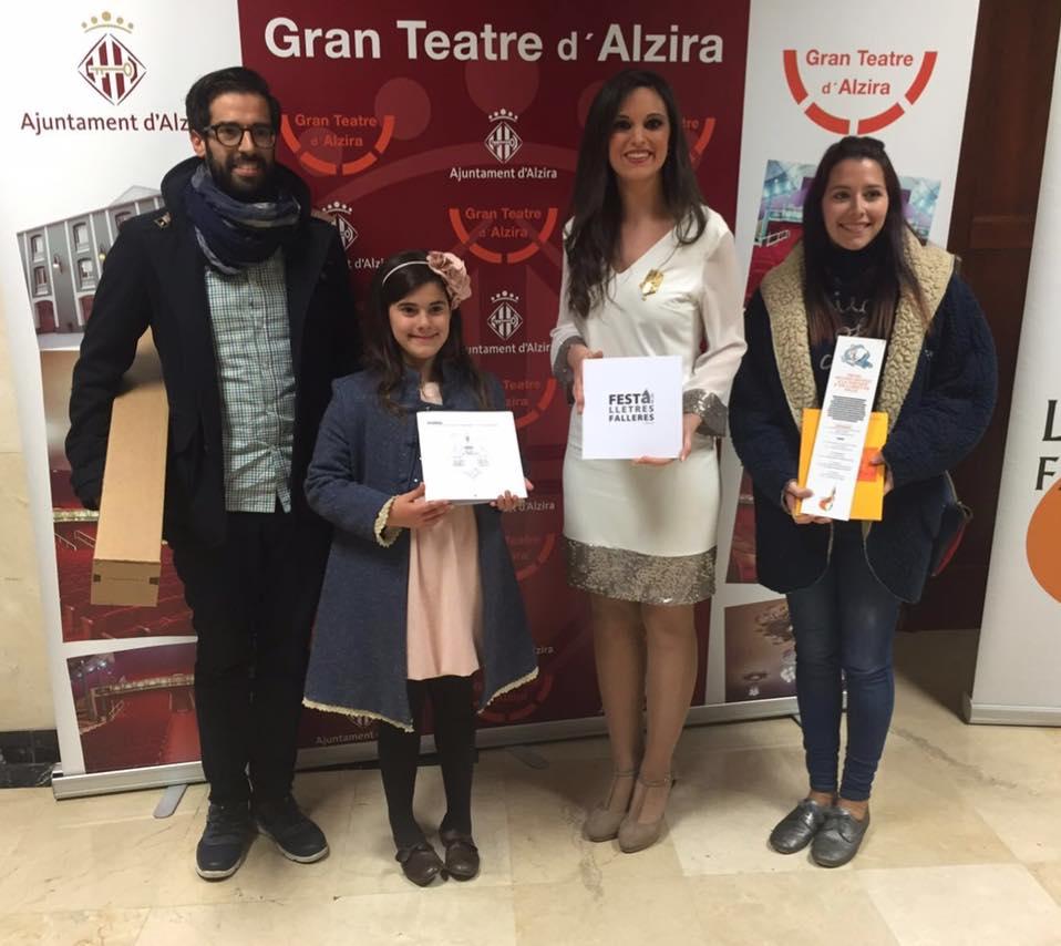 La Falla Avinguda de Torrent guanya el Premi Mestre Ortifus en la cinquena gala de les Lletres Falleres