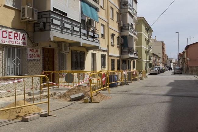 Obres de millora i accessibilitat voreres del carrer Verge del Carme a Picassent