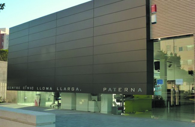 Paterna. Centro civico de Lloma Llarga