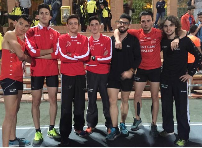Provincial clubes 2016 Valencia - grupo podium