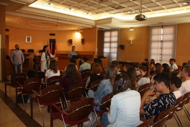Recepción estudiantes intercambio La Salle