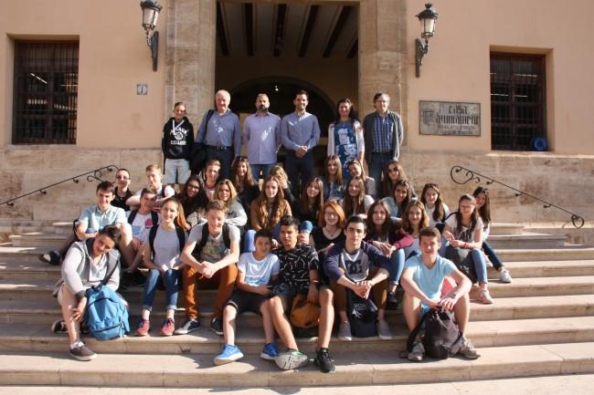 Recepción estudiantes intercambio La Salle2