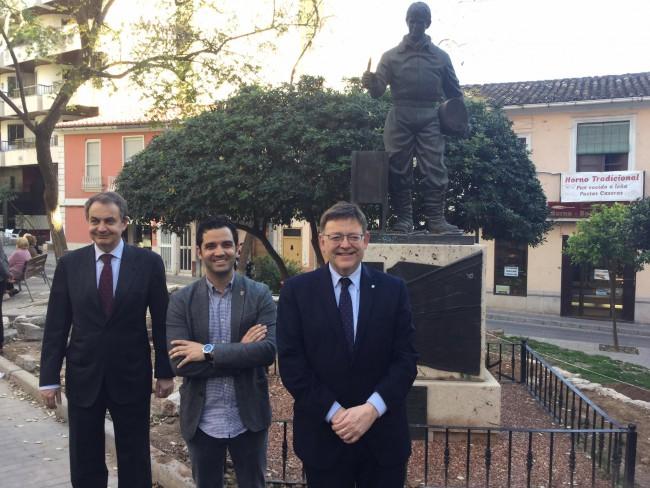 Zapatero,  Puig y Sagredo. Paterna