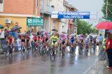 Alba Teruel, Alba Gómez y Sandra Alonso, ganadoras de la I Volta Ciclista a València de féminas