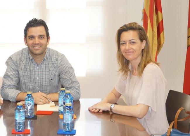 J.A. Sagredo y Núria Campos