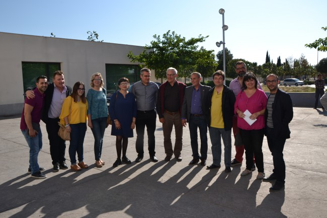 Joan Ribó i José Joaquín Álvarez reben a Xirivella el premis de l'Associació d'Ex Presos Socials