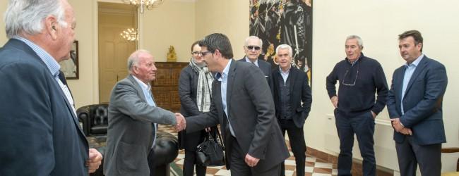 Jorge Rodríguez con Tribunal de las Aguas foto_Abulaila (1)