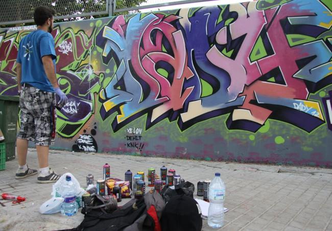 Mislatas Representan. Grafiti