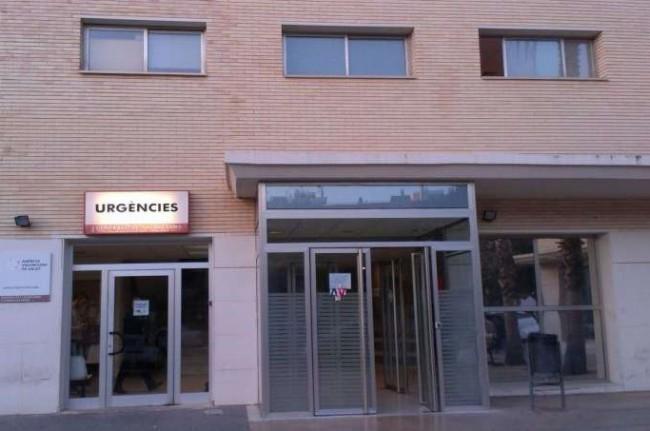Moncada. centro de salud. Urgencias