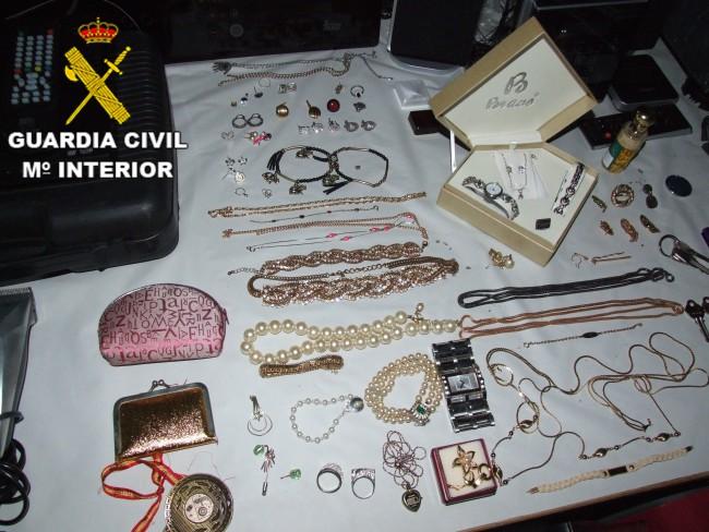 Picassent. Guardia Civil. banda jovenes