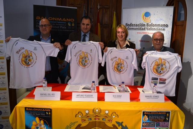 Presentación play off CH Canyamelar Benetússer 2