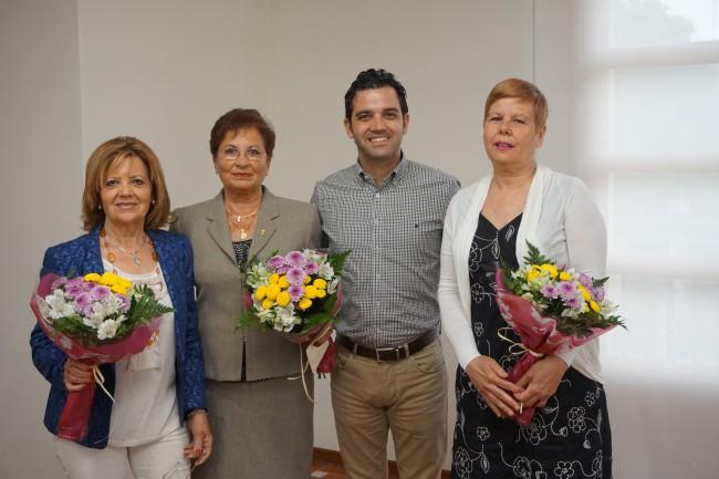 Recepción Presidentas Junta Local Cancer Paterna