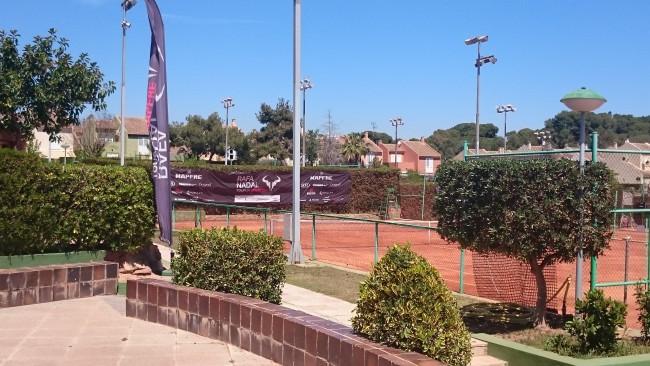 Rocafort. Club Español de Tenis. Rafa Nadal Tour