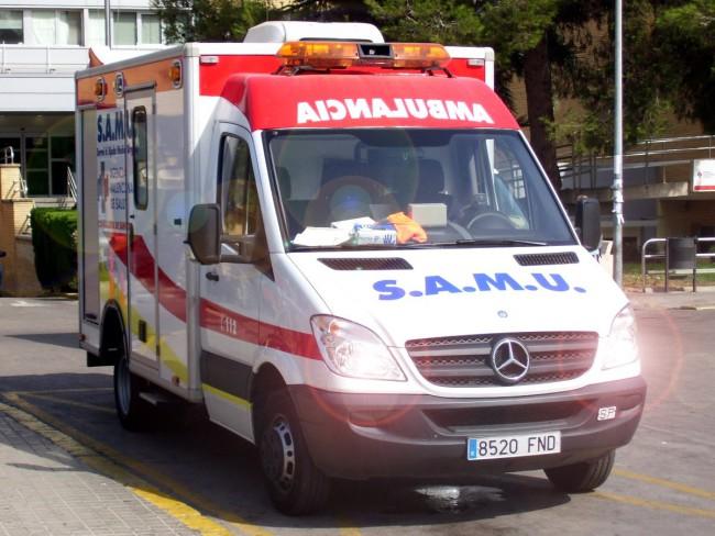 SAMU. ambulancia