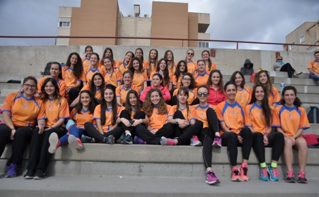 Torrent. Club Atletismo Torrent. equipo femenino