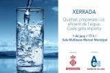 Aigües de Cullera conmemora el Día Mundial del Medio Ambiente con una cata de aguas y una conferencia sobre uso responsable