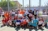 Pilota a l'Escola celebra la festa de cloenda a Massalfassar després de promocionar la pilota en 321 centres de tot el territori