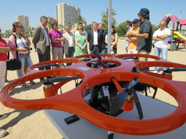 El Puig. Dron. Playa