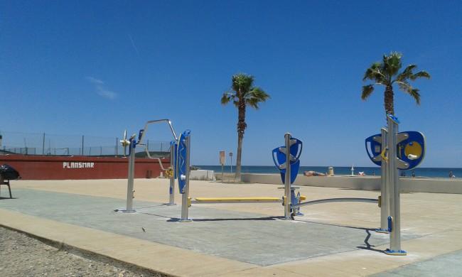 El Puig. Parc Saludable. Playa