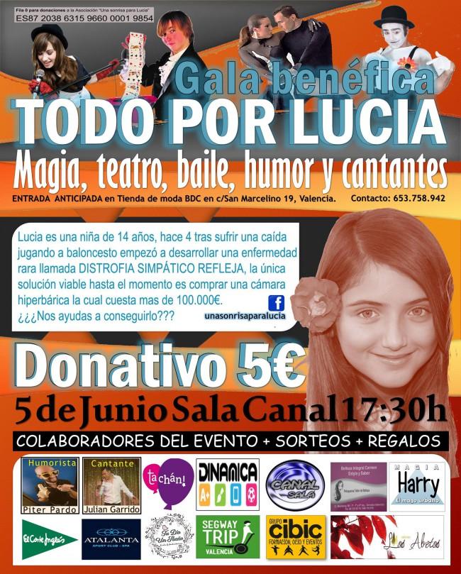 Gala Benefica Lucia