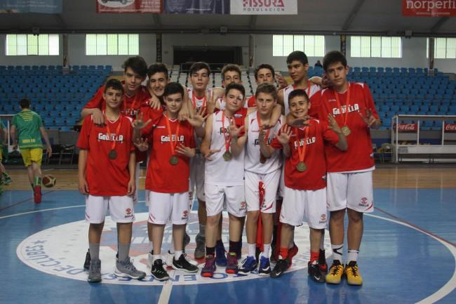Godella. CB Horta Godella. Campeonato de España infantil