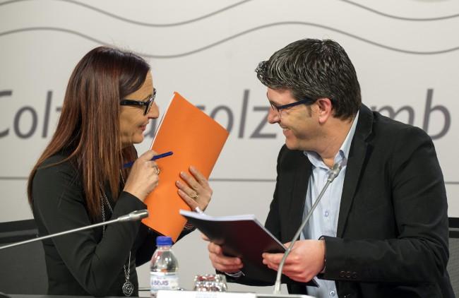 JORGE RODRÍGUEZ Y Mª JOSEP AMIGÓ