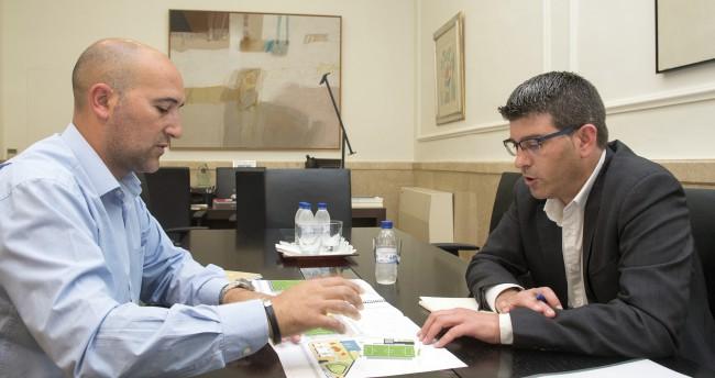 Jorge Rodríguez con alcalde de Massamagrell foto_Abulaila (2)