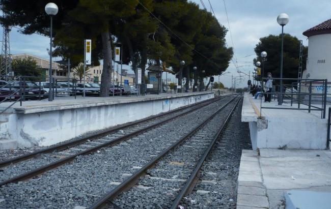 estación Fuente del Jarro Metrovalencia