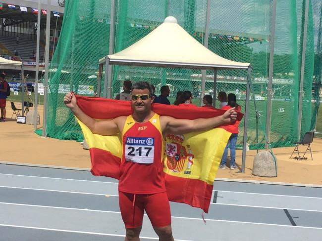 David Casinos Subcampeón en los Europeos Paralímpicos