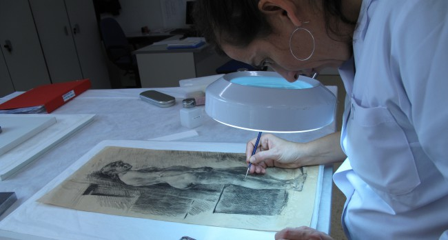 restauración trabajos pinazo desde Roma (1)