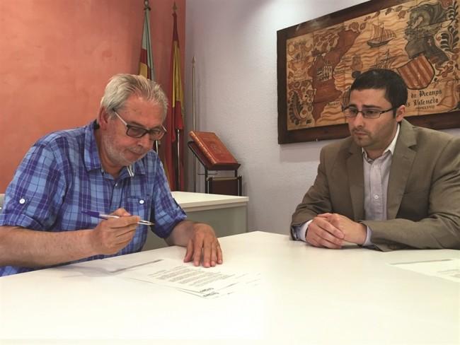 signatura instal·lació viver empreses picanya