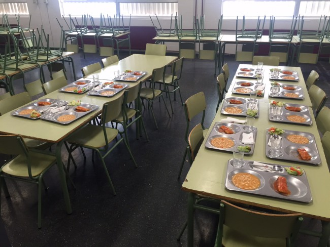 Comedor Escolar fin de semana CEIP La Coma