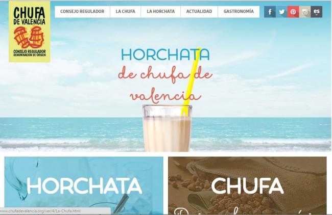 DO Chufa de Valencia estrena nuevo diseño para su página web