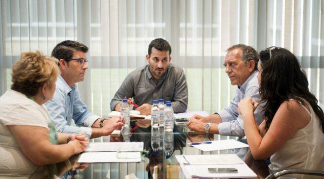 Jorge Rodríguez y Berenguer se reúnen con conseller Marzá foto_Abulaila (1)