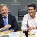 Jorge Rodriguez se reúne con Delegado de Gobierno CV