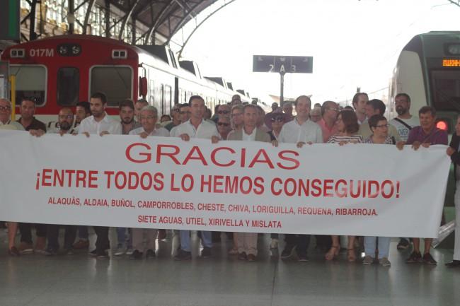 Linea C3. Llegada a Valencia
