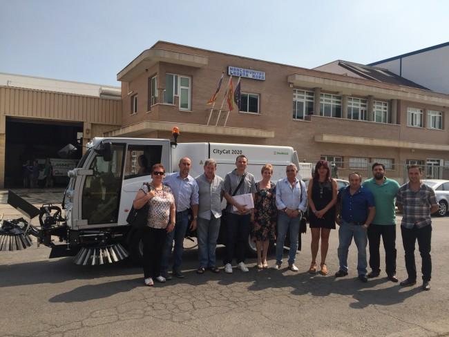 Mancomunitat Horta Nord adquiere 2 nuevas barredoras