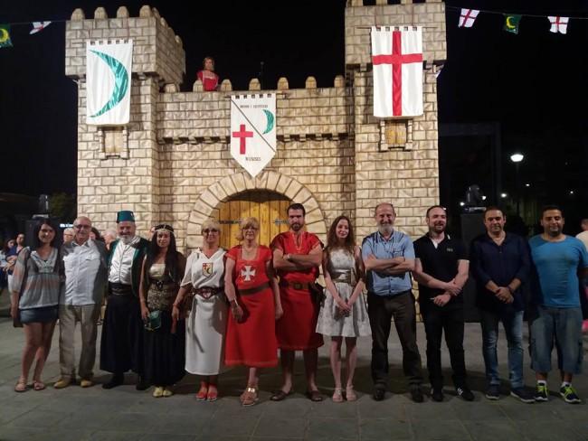 Manises. moros i cristians al castell