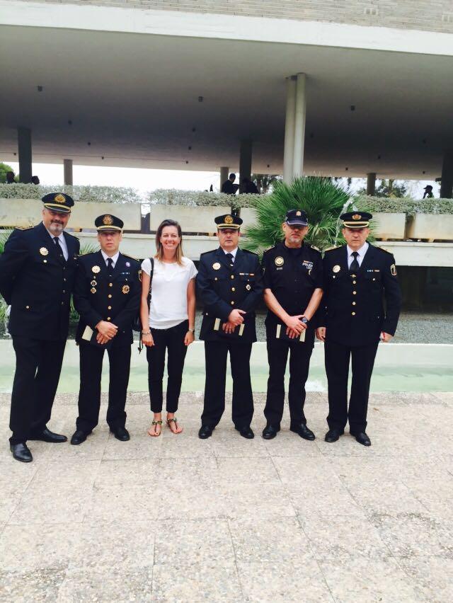 Policia Local Paterna condecoraciones