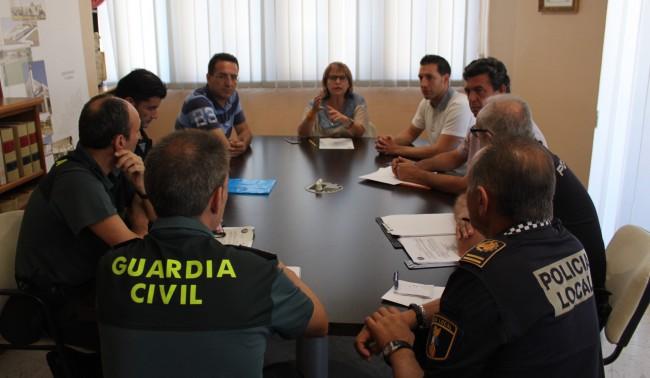 Reunio de la Junta Local de Seguretat  a Picassent