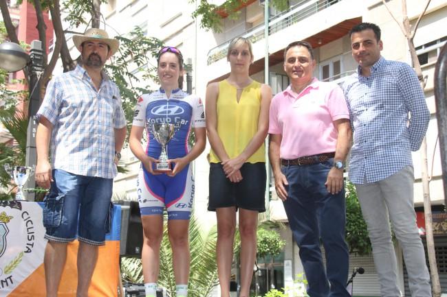 Vuelta ciclista a Torrent. ganadora femenina