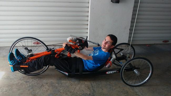 alaquas. bicicleta adaptada