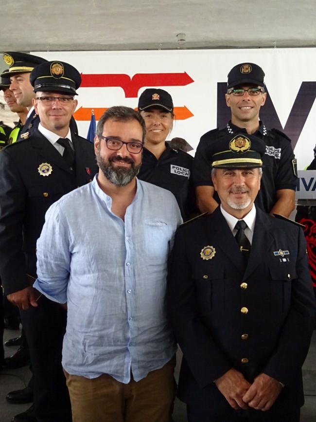 policías condecorados xirivella